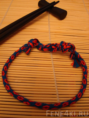 Кумихимо - японский шнурок Kumihimo-tsvetok-1