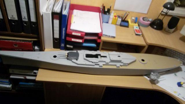 USS Missouri BB-63 / Trumpeter,  1:200 Bhuymprb