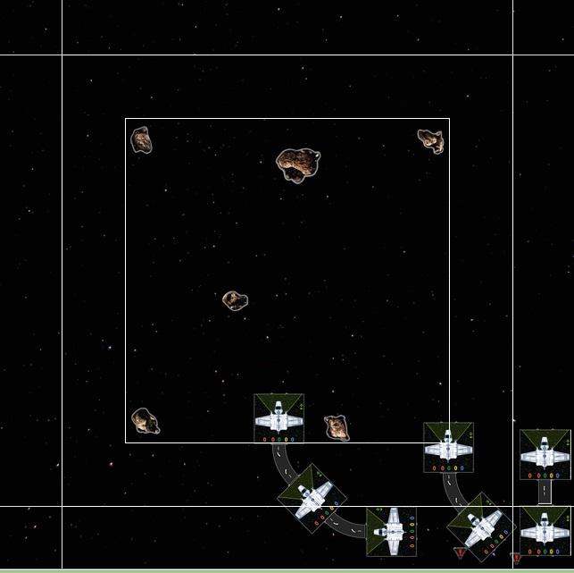 große Schiffe in Formation fliegen 3rla69k4