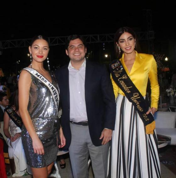 miss universe 2017 junto de miss ecuador universo 2018. Kwjlqkn7
