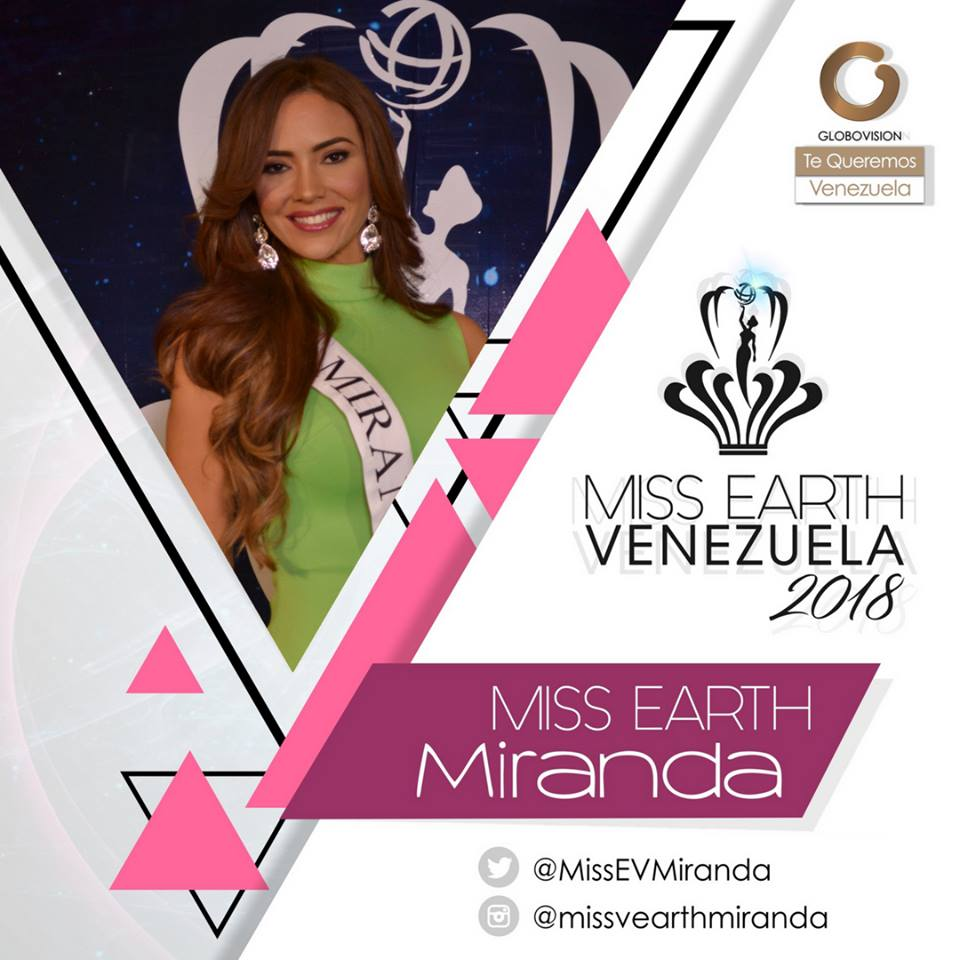 candidatas a miss earth venezuela 2018. final: 12 agosto. Xv5gvi4z