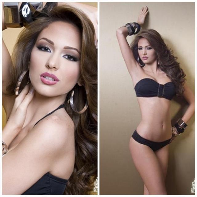 carla rodrigues, q participo de miss venezuela 2011 (top 10) va para miss world 2018, representando portugal. 9um2gcbk
