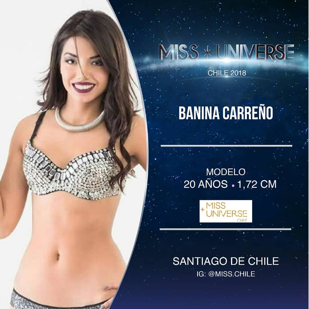 candidatas a miss chile universo 2018. final: 19 agosto. - Página 3 8c4ajst4