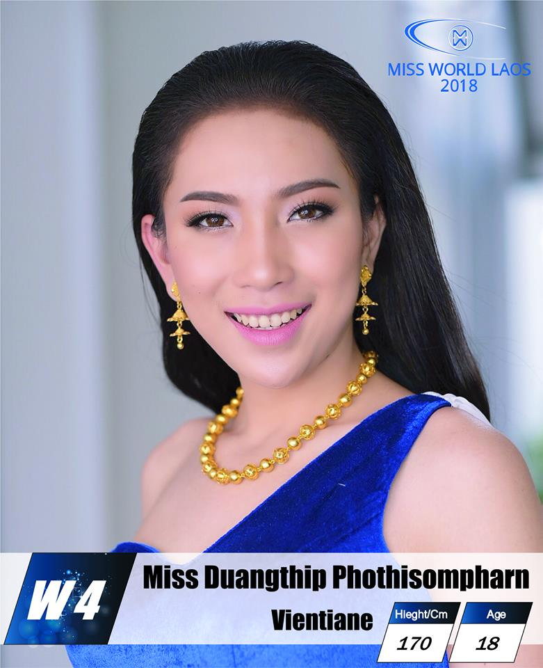 candidatas  miss world laos 2018. final: ? 7nyxl3pu
