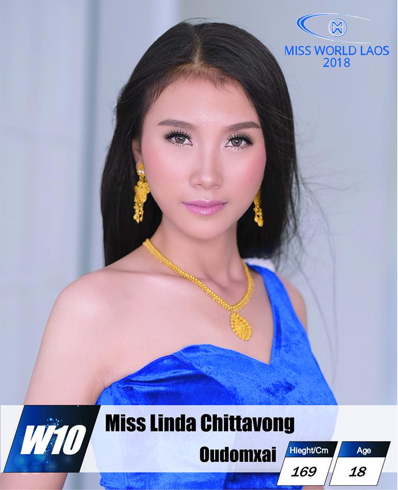 candidatas  miss world laos 2018. final: ? Eia32isy