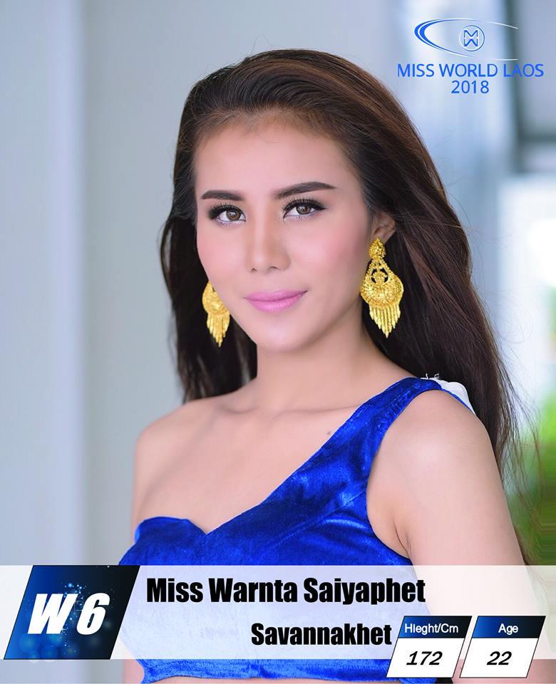 candidatas  miss world laos 2018. final: ? P4vtf98h