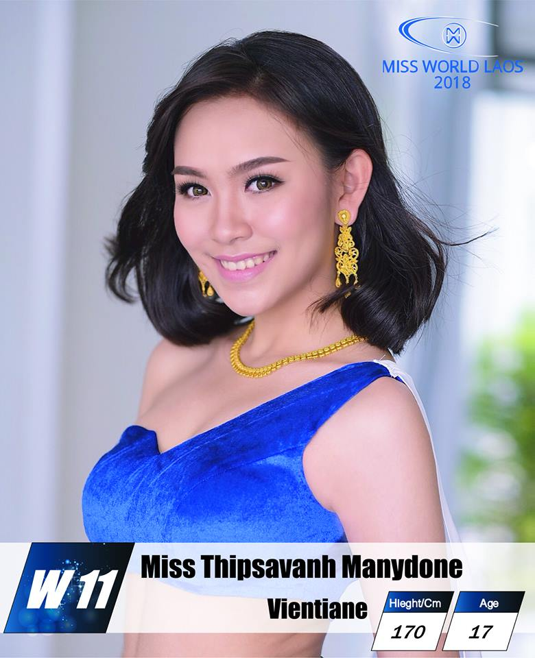 candidatas  miss world laos 2018. final: ? Prqo7f5e