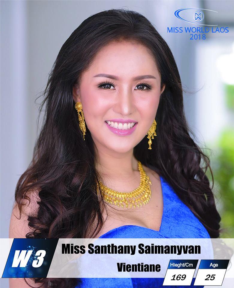 candidatas  miss world laos 2018. final: ? U9x5ne5z