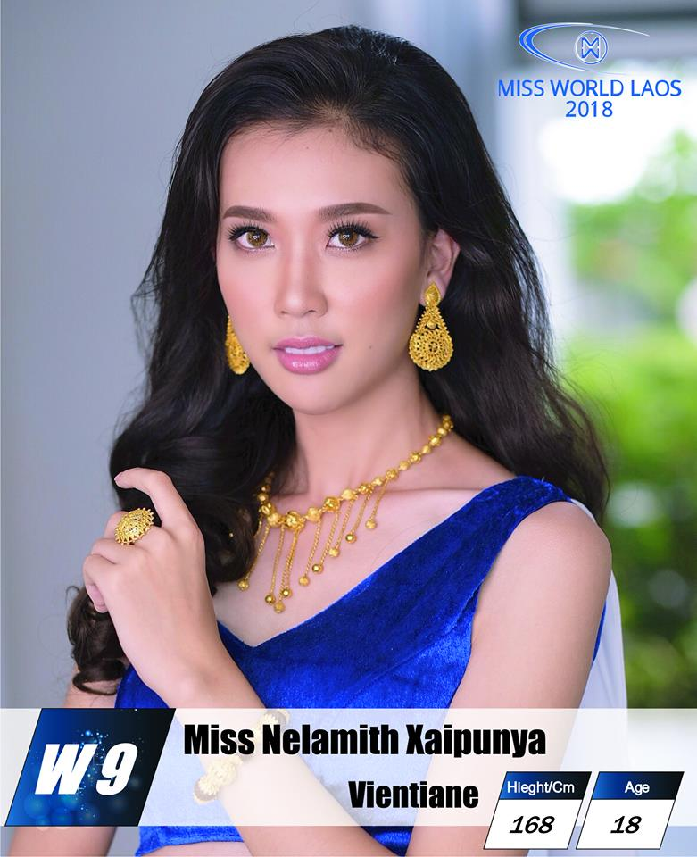 candidatas  miss world laos 2018. final: ? Y7qztrs7