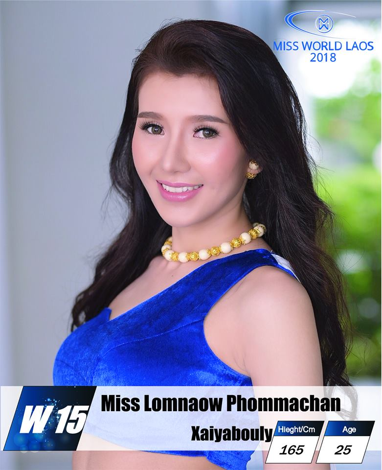 candidatas  miss world laos 2018. final: ? Yh8exa7r
