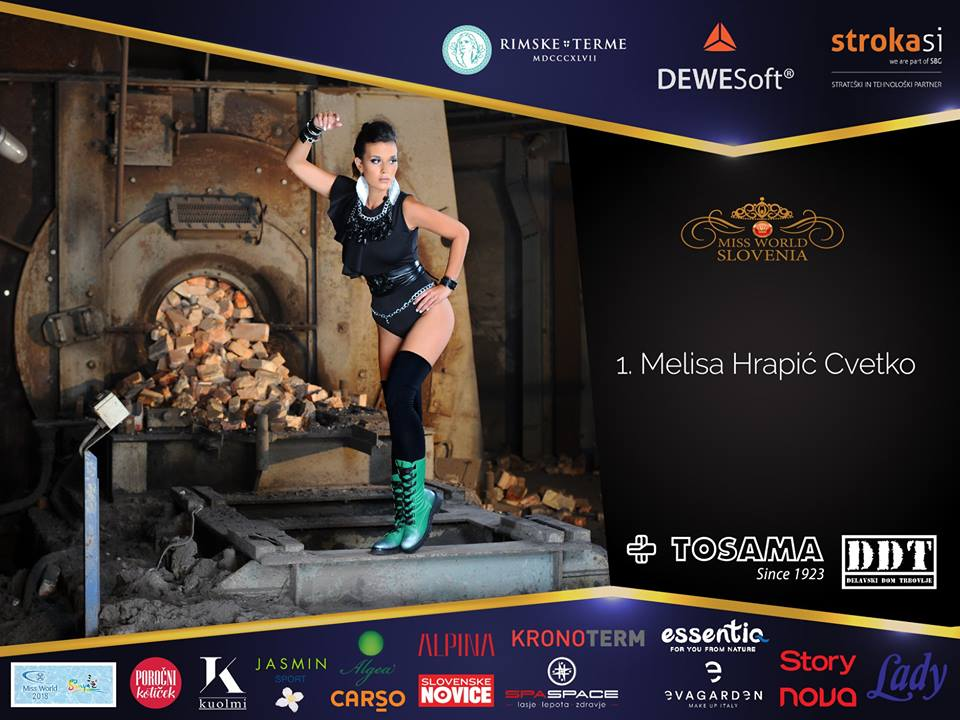 candidatas a miss world slovenia 2018. final: 08 sep. Ck44yr66