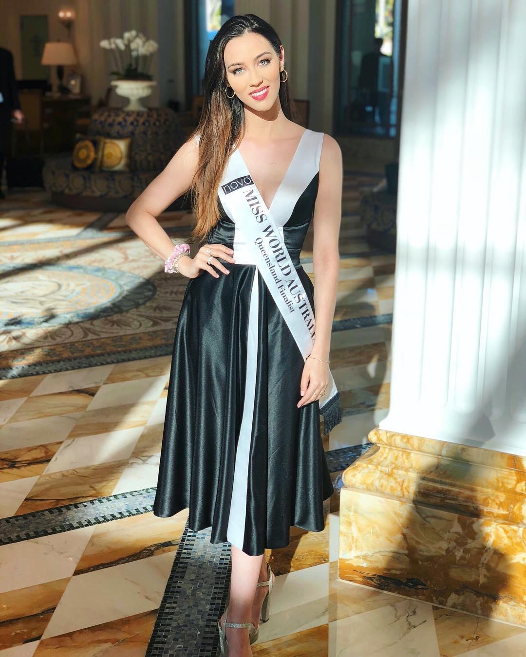 candidatas a miss world australia 2018. final: 31 agosto. - Página 4 Dopw5rza