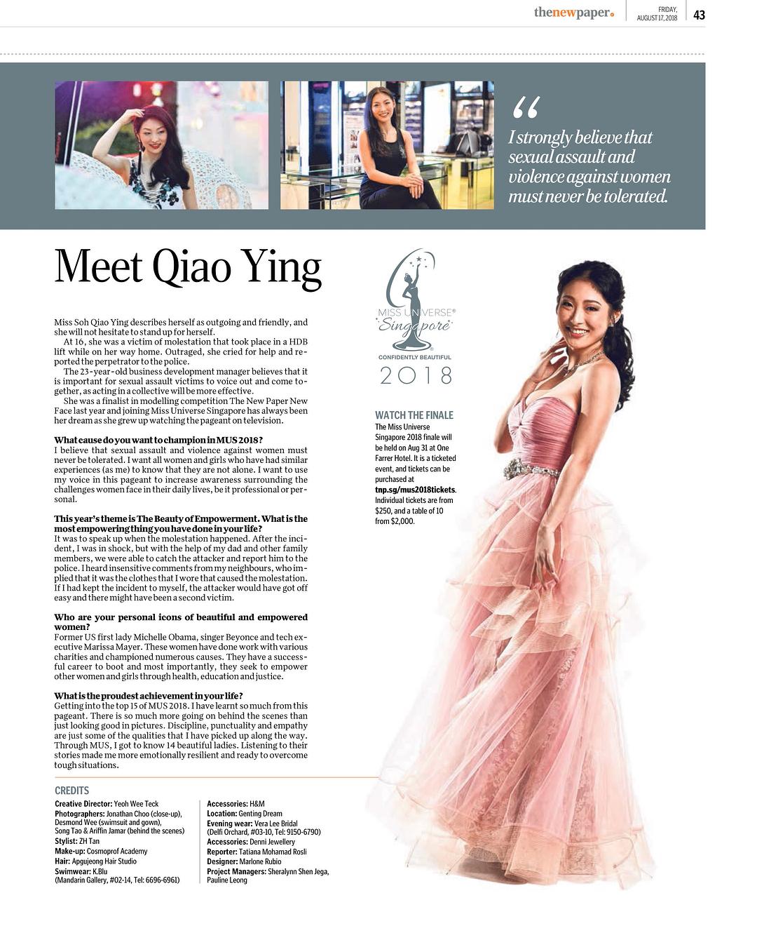 candidatas a miss universe singapore 2018. final: 31 agosto. - Página 5 Fmz8qk63