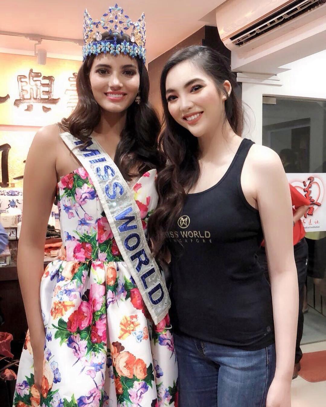 miss world 2016 durante tour de beauty with a purpose em singapore. 9ej6sd2p