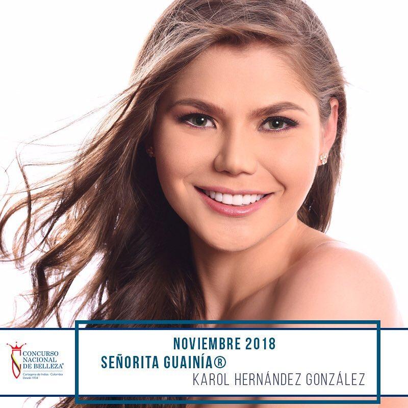 candidatas a cnb senorita colombia 2018-2019. final: 12 nov. J54alh6n