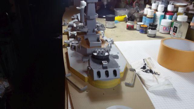 USS Missouri BB-63 / Trumpeter,  1:200 E6pig98x