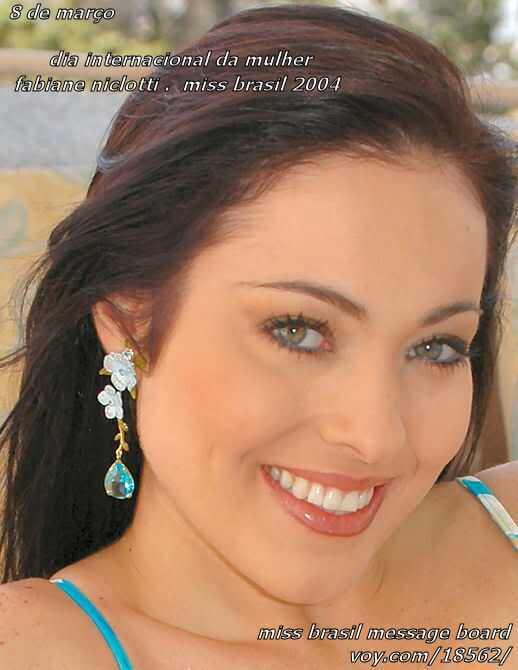 fabiane niclotti, miss brasil 2004. descanse em paz, querida fabiane. Esjcmvuj