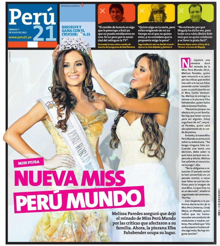 elba fahsbender, miss mundo peru 2013.   - Página 3 3e38defm
