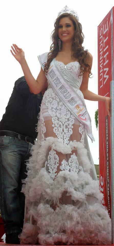 elba fahsbender, miss mundo peru 2013.   4hh3zq9u