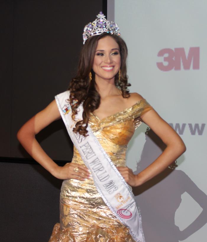 elba fahsbender, miss mundo peru 2013.   - Página 2 75dd38k5