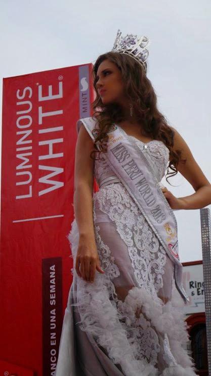 elba fahsbender, miss mundo peru 2013.   Hicwxh9u