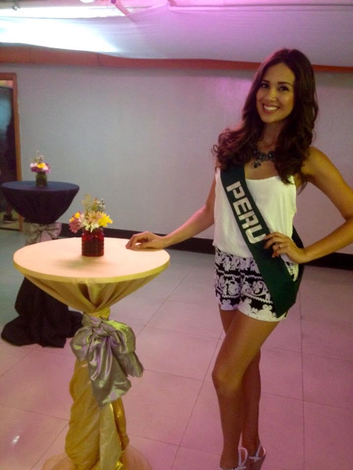 elba fahsbender, miss mundo peru 2013.   - Página 7 Nmc678yu