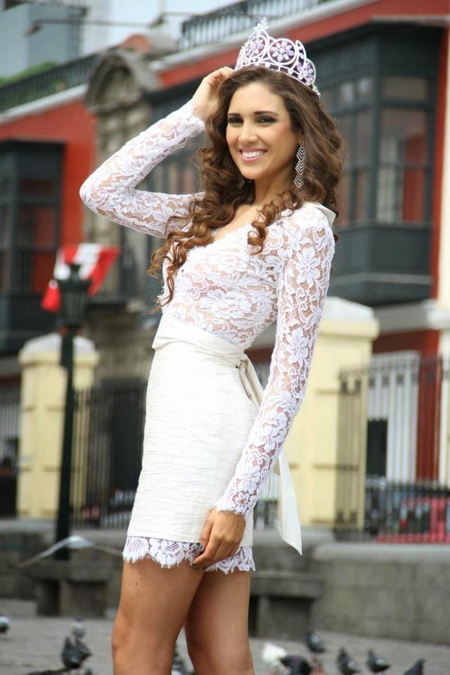 elba fahsbender, miss mundo peru 2013.   Qmnsq5el