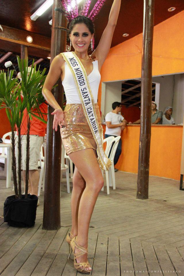 thainara latenik, miss brasil continentes unidos 2013. Gau6am8o