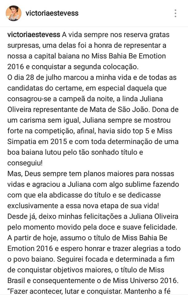 victoria esteves, miss bahia universo 2016. Fqvktxn3
