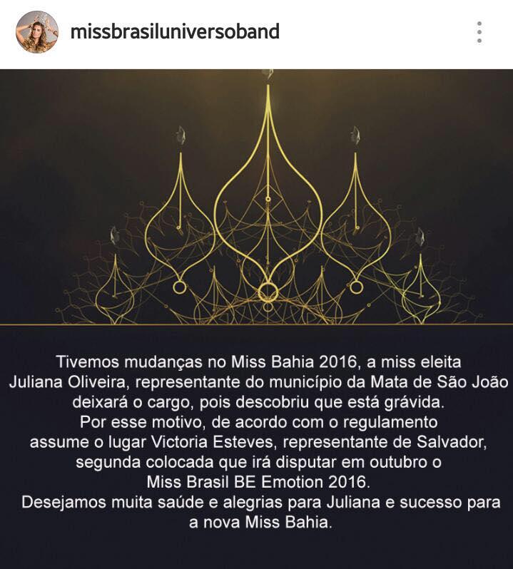 victoria esteves, miss bahia universo 2016. Z6xpkm9o
