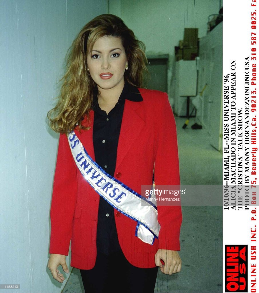 alicia machado, miss universe 1996. C584d79r