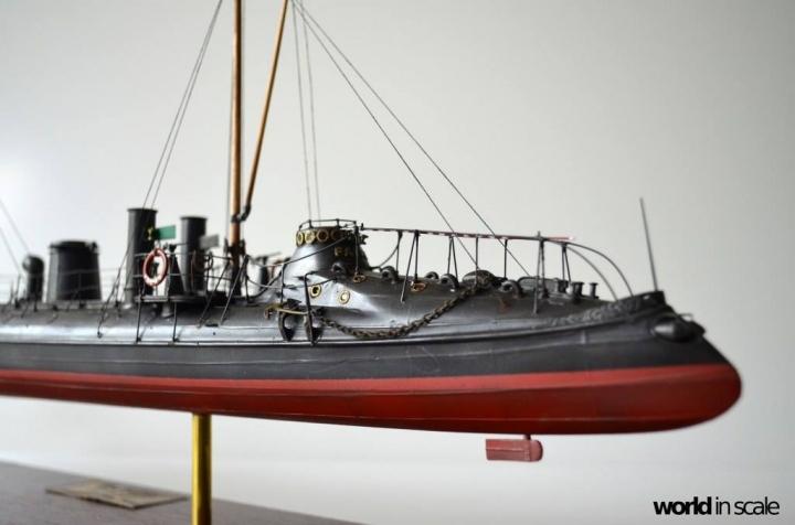 SMS Falke (k.u.k.) - 1/72 by Wiener Modellbau Manufactur 35r77t7q