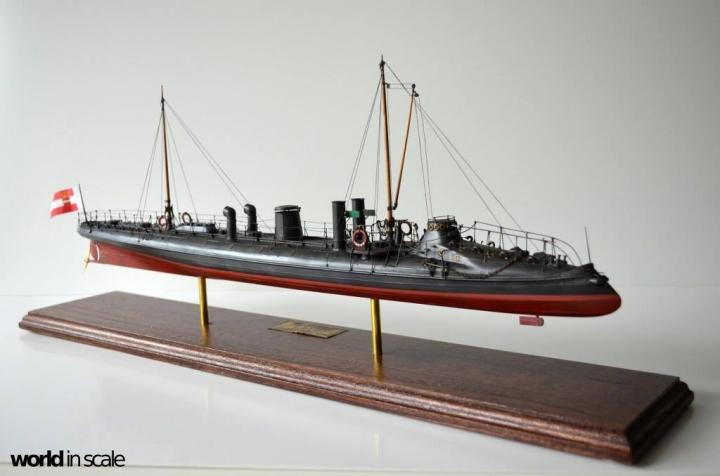 SMS Falke (k.u.k.) - 1/72 by Wiener Modellbau Manufactur Diw5s7nl