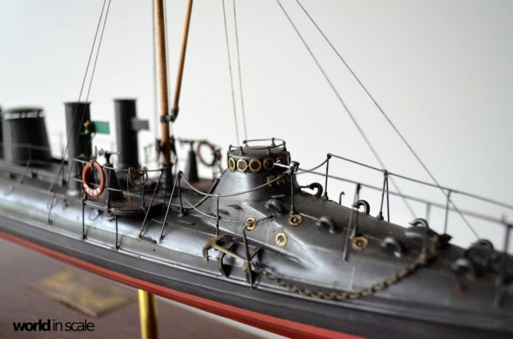 SMS Falke (k.u.k.) - 1/72 by Wiener Modellbau Manufactur O73u5cak