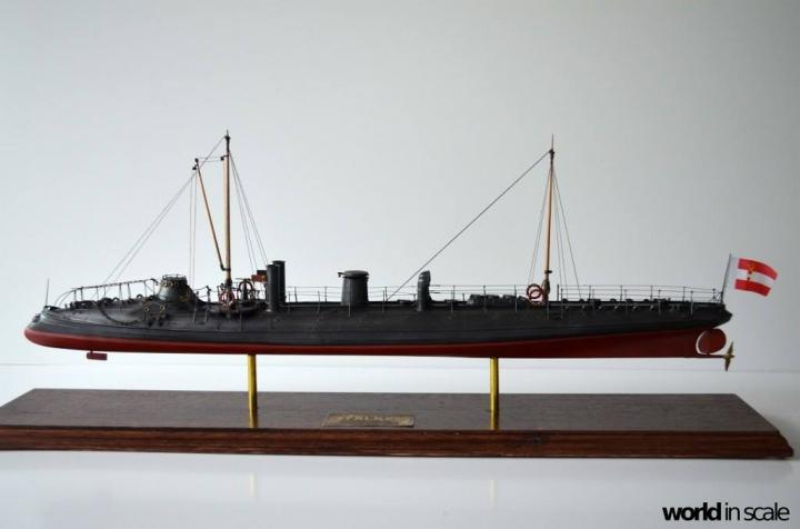 SMS Falke (k.u.k.) - 1/72 by Wiener Modellbau Manufactur Sh7u2uzr