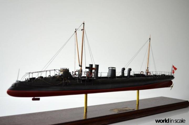 SMS Falke (k.u.k.) - 1/72 by Wiener Modellbau Manufactur Uer5gn3v