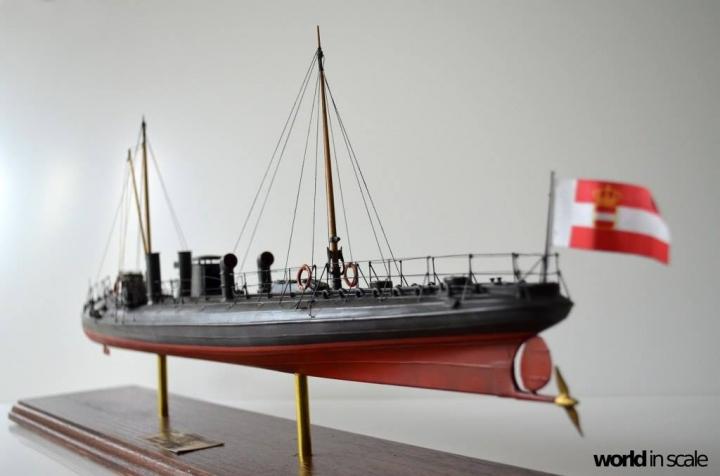 SMS Falke (k.u.k.) - 1/72 by Wiener Modellbau Manufactur Zfmghobn