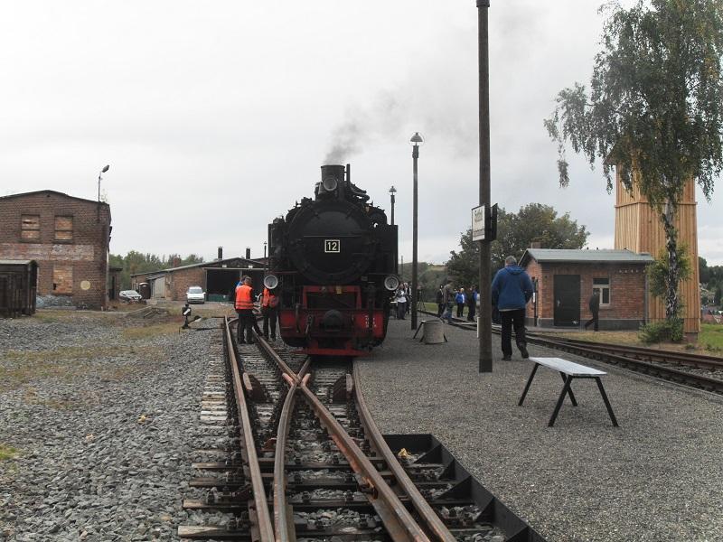 Rückblick auf das Jubiläum 25 Jahre Mansfelder Bergwerksbahn e. V. Balh6u2e