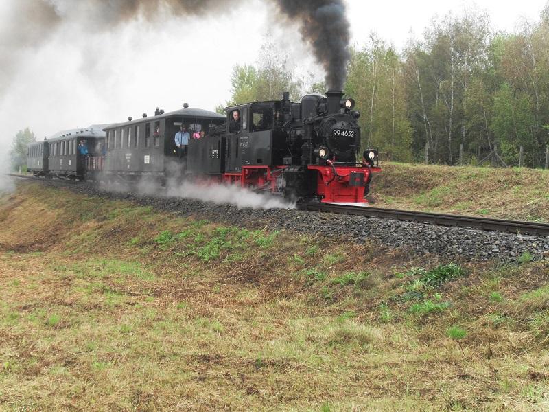 Rückblick auf das Jubiläum 25 Jahre Mansfelder Bergwerksbahn e. V. E7nhozwz
