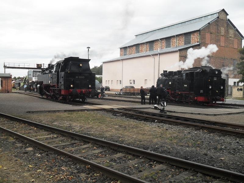 Rückblick auf das Jubiläum 25 Jahre Mansfelder Bergwerksbahn e. V. Zkmbpah6