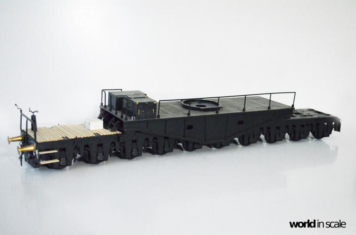 "Eisenbahngeschütz ""DORA"" – 1/35 by Soar Art Workshop - ""RELOADED"" 6psil9at"