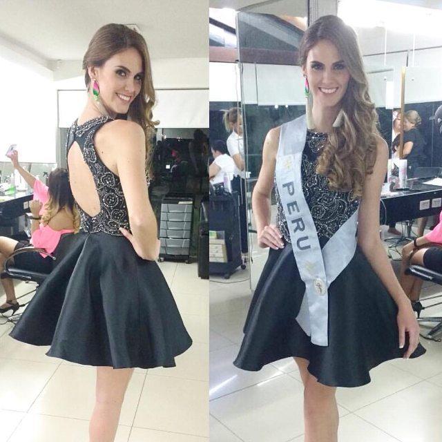 fiorella peirano, 6ta finalista de reyna hispanoamericana 2016/miss peru international 2016. Jpyecaeo