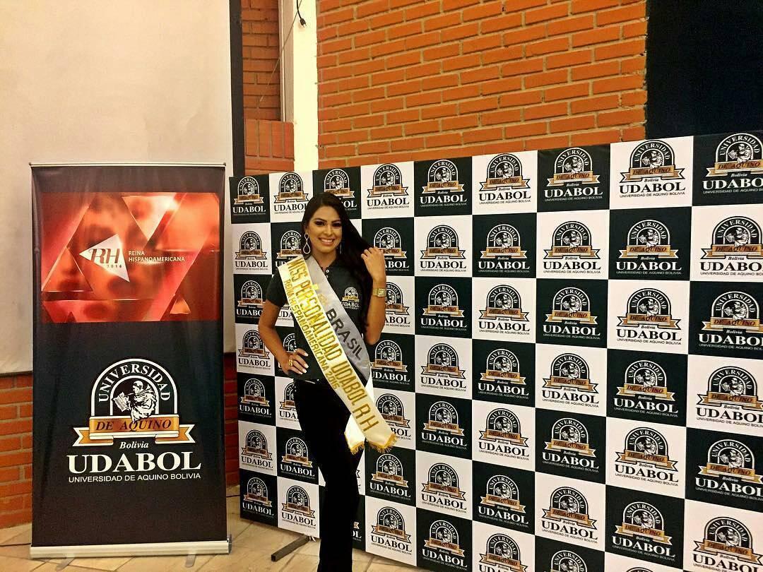 mayra dias, top 20 de miss universe 2018/primeira finalista de rainha hispanoamericana 2016. - Página 3 Wkvcva5q