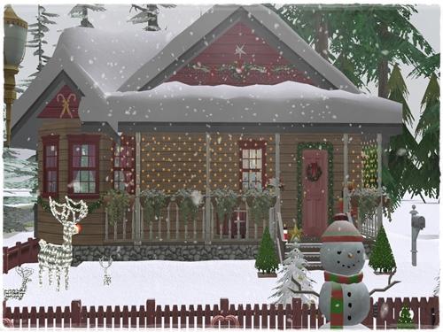 TS2 House:Winter Dream 2hrlsucc