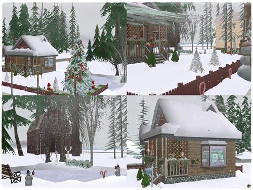 TS2 House:Winter Dream 3ioicgf9