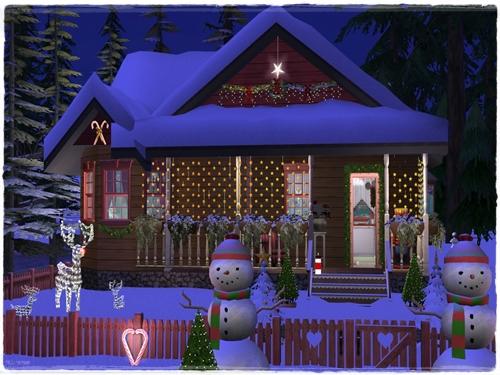 TS2 House:Winter Dream 55amufmy