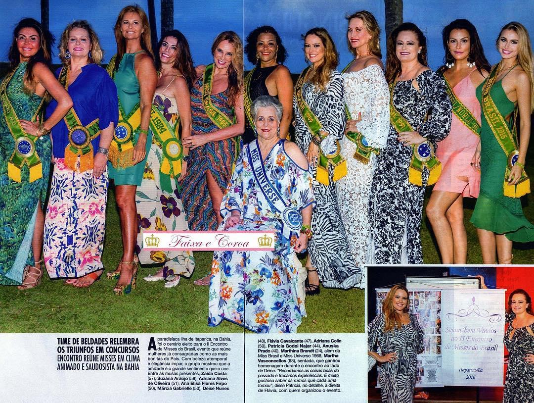 encontro de miss brasil, homenagem a deise nunes pelos 30 anos de sua eleicao como miss brasil 1986. 66bt9lgi