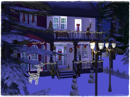 TS2 House:Christmas Starter House (No Cc) 7swecm7n