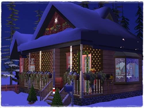 TS2 House:Winter Dream H64uy9fk