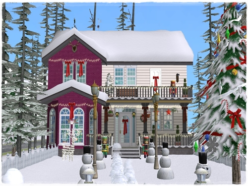 TS2 House:Christmas Starter House (No Cc) Lmhlphp9